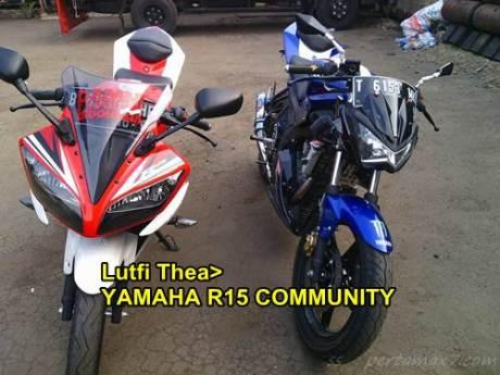 Modifikasi Yamaha R15 naked lampu kawasaki Z250 replika 02 pertamax7.com