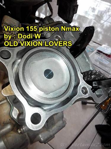 Modifikasi yamaha vixion jadi 155 cc pakai piston yamaha nmax 155 01 pertamax7.com