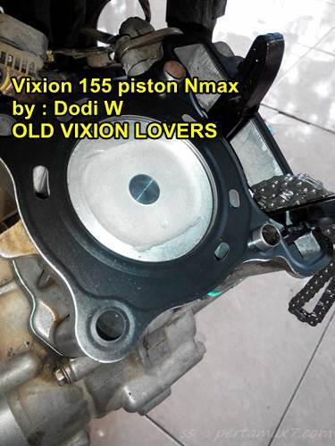 Modifikasi yamaha vixion jadi 155 cc pakai piston yamaha nmax 155 02 pertamax7.com