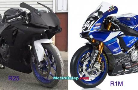 Modifkasi Yamaha R25 jadi ala Yamaha R1M 03 pertamax7.com