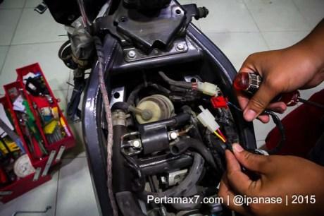 Pasang Autosafe Alarm Yamaha new Vixion lightning pertamax7.com-6