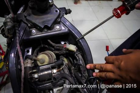Pasang Autosafe Alarm Yamaha new Vixion lightning pertamax7.com-7