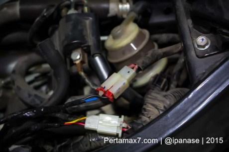 Pasang Alarm Autosafe Di Yamaha New Vixion Lightning