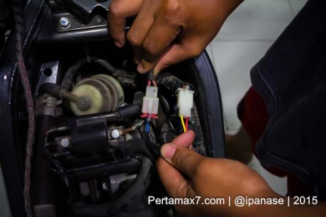 Pasang Autosafe Alarm Yamaha new Vixion lightning pertamax7.com-9