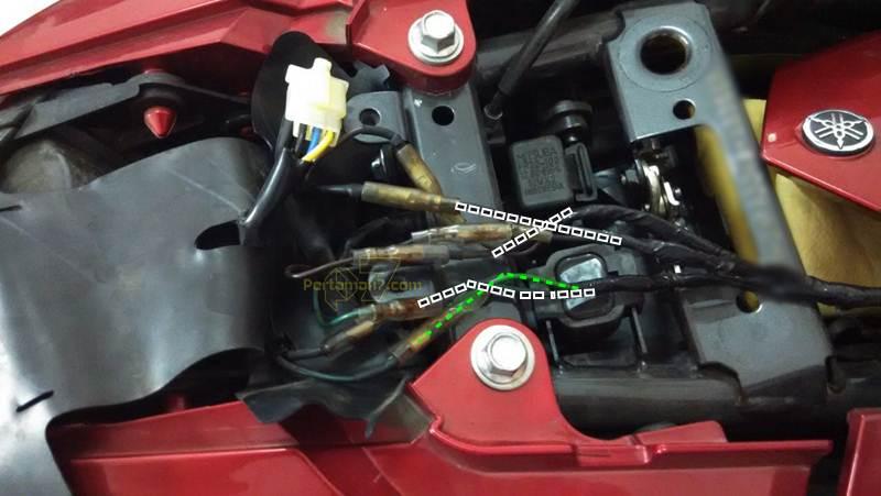 Wiring Diagram New Vixion Lightning : Pasang alarm autosafe di yamaha new vixion lightning