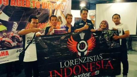 Perayaan ultah jorge lorenzo yamaha indonesia bersama fans klub 01