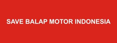 save balap motor Indonesia