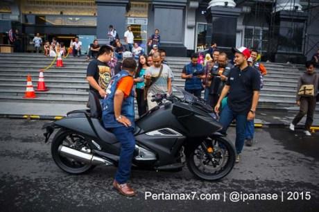 Soft Launching Moge Honda Vultus NM4 gegerkan Jogja City Mall, Komunitas moge pun takjub-10