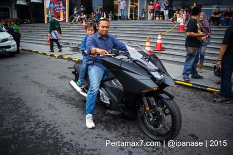 Soft Launching Moge Honda Vultus NM4 gegerkan Jogja City Mall, Komunitas moge pun takjub-12