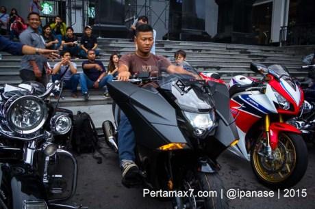 Soft Launching Moge Honda Vultus NM4 gegerkan Jogja City Mall, Komunitas moge pun takjub-15