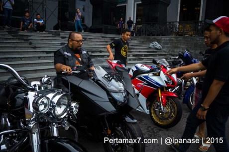Soft Launching Moge Honda Vultus NM4 gegerkan Jogja City Mall, Komunitas moge pun takjub-9