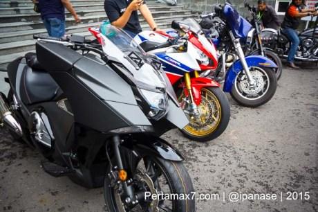 Soft Launching Moge Honda Vultus NM4 gegerkan Jogja City Mall, Komunitas moge pun takjub