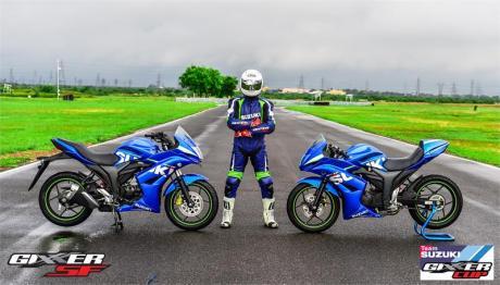 Suzuki Gixxer SF jadi Motor Balap Di India01Pertamax7.com