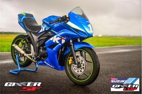 Suzuki Gixxer SF jadi Motor Balap Di India02Pertamax7.com