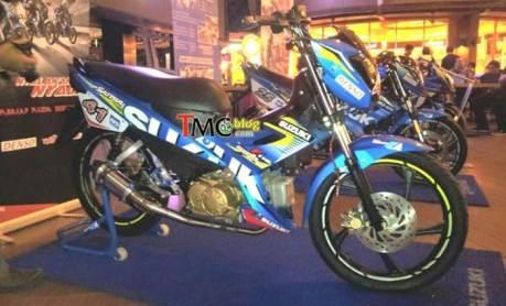 suzuki satria F115 youg star motogp edisi balap bebek