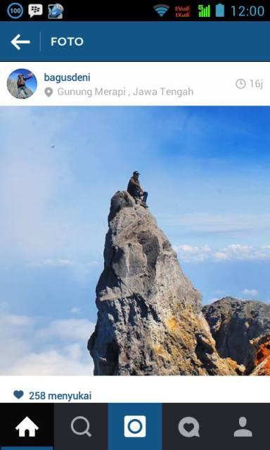 Terpeleset, Pendaki Terjatuh ke Kawah Gunung Merapi Jawa Tengah-Jogja