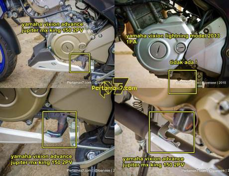 undercowl perbedaan mesin yamaha new vixion advance dengan yamaha new vixion lightning