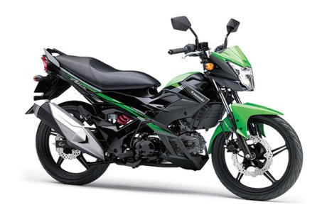 warna Kawasaki-Athlete-PRO-hitam hijau