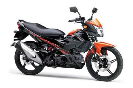 warna Kawasaki-Athlete-PRO-hitam oranye