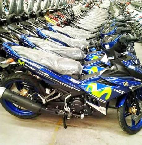yamaha jupiter mx king versi motogp movistar terbaru 2015 biru