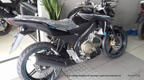 yamaha new vixon advance 2015 hitam
