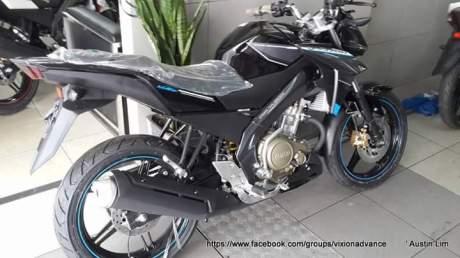 yamaha new vixon advance 2015 hitam