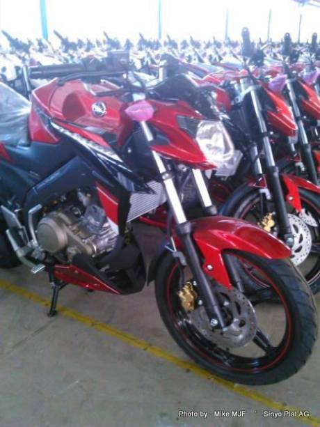 yamaha new vixon advance 2015  merah 1