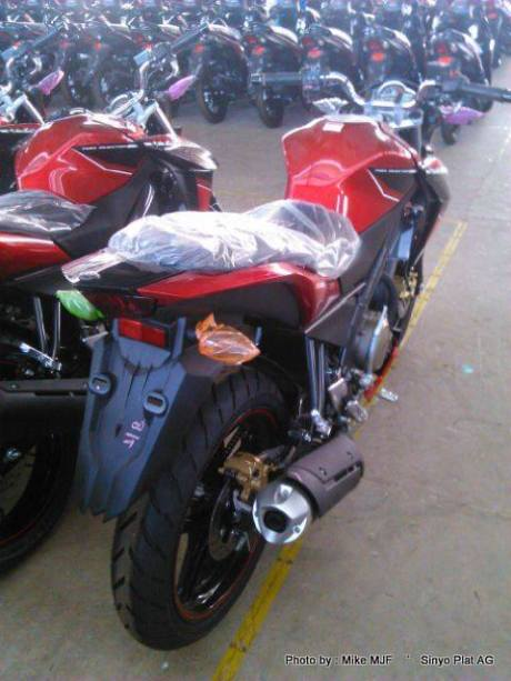yamaha new vixon advance 2015  merah 2