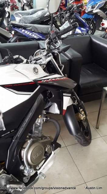 yamaha new vixon advance 2015 putih depan
