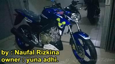 Yamaha vixion Advance 2015 motogp sudah di tangan konsumen jawa tengah 00 pertamax7.com