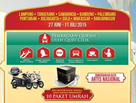 acara dalam safari ramadhan honda 2015 pertamax7.com