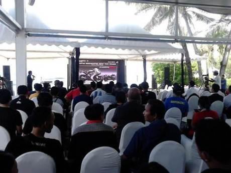 ahm launching moge honda di Bali