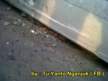 Akibat rem Blong, Bus Sugeng Rahayu Terguling di Nganjuk Jatim, 2 meninggal dunia 05 pertamax7.com