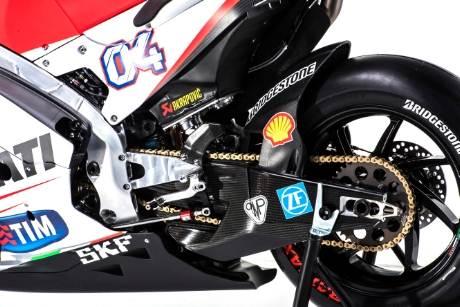 gear belakang ducati GP.15 rompal di motogp Mugello 2015
