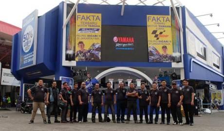Jakarta Max Owners Hadiri peluncuran Yamaha NMax non ABS , sambil Berbuka Puasa bareng direksi YIMM