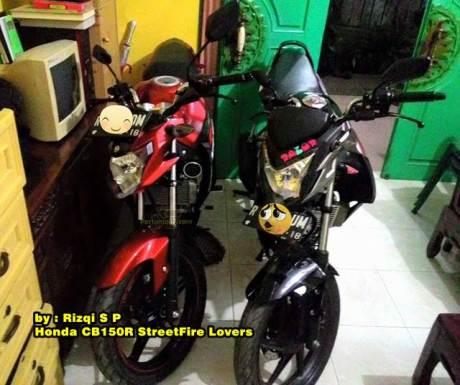 Kala Yamaha New Vixion Advance jejer Honda CB150R streetfire pertamax7.com
