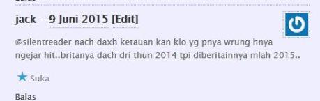 komentator pertamax7.com kecewa tidak dapat barang diskon cuci gudang yamaha byson dan scorpio Rp.6 juta 09Pertamax7.com