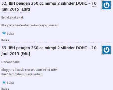 komentator pertamax7.com kecewa tidak dapat barang diskon cuci gudang yamaha byson dan scorpio Rp.6 juta 14Pertamax7.com