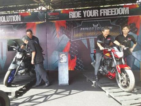Launching yamaha MT-25 01 pertamax7.com