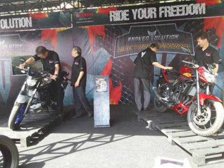 Launching yamaha MT-25 02 pertamax7.com