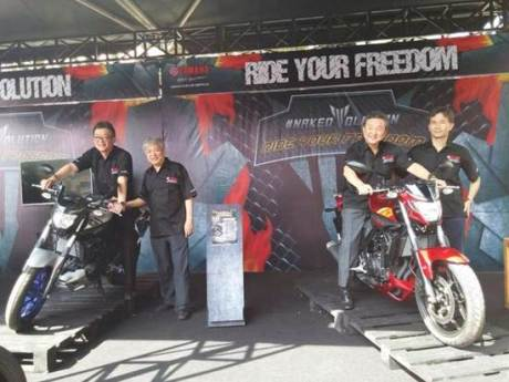 Launching yamaha MT-25 03 pertamax7.com