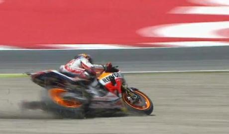 Marquez Crash Motogp Catalunya 201504 Pertamax7.com