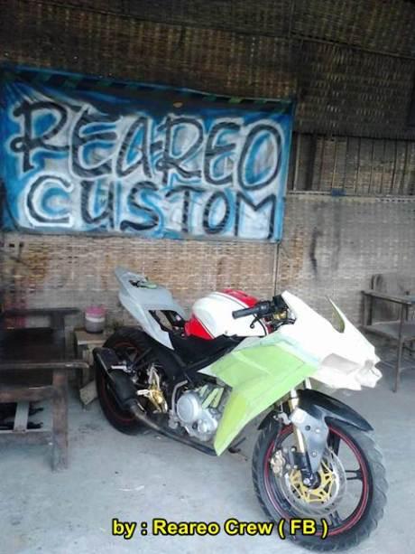 Modifikasi Yamaha new Vixion ala Kawasaki Ninja H2 05 pertamax7.com
