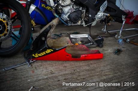 oil catch dan undercowling Yamaha Sunday Race seri 2 Sentul Pertamax7.com_-4