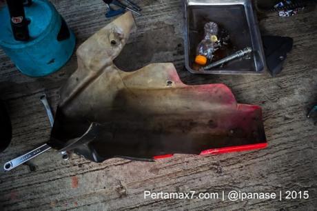 oil catch dan undercowling  Yamaha Sunday Race seri 2 Sentul Pertamax7.com_-5
