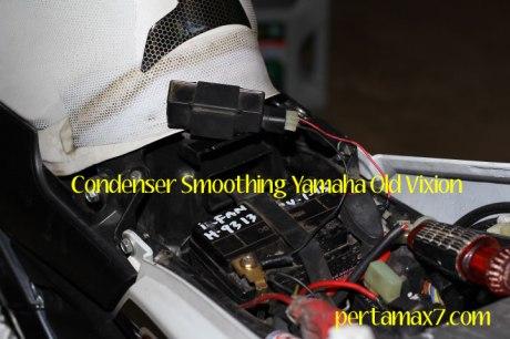 Pasang kapasitor Yamaha Old Vixion di yamaha New Vixion 07 Pertamax7.com