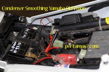 Pasang kapasitor Yamaha Old Vixion di yamaha New Vixion 08 Pertamax7.com
