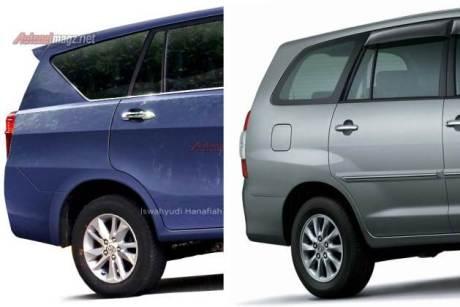 perbedaan toyota innove 2016 vs innova 2015