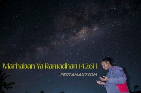 pertamax7.com mengucapkan marhaban Ya Ramadhan 1436H