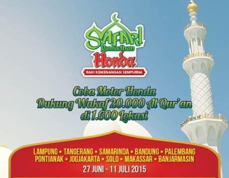 safari ramadhan honda 2015 pertamax7.com